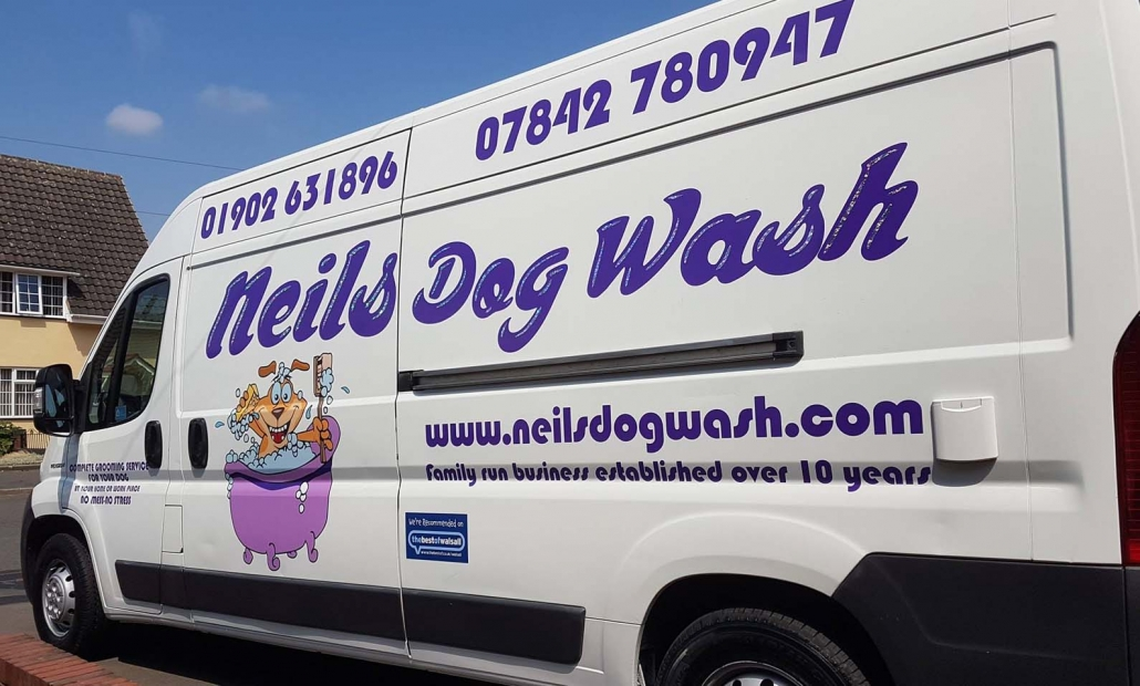 neils dogwash mobile dog grooming