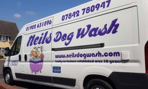 neils dogwash mobile dog grooming